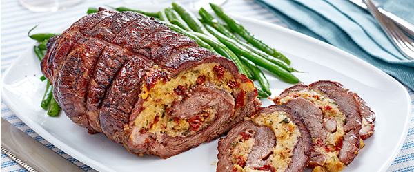 Photo of Mediterranean Mozzarella Stuffed Lamb