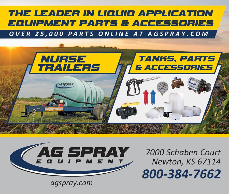 Ag Spray Equipment Ad