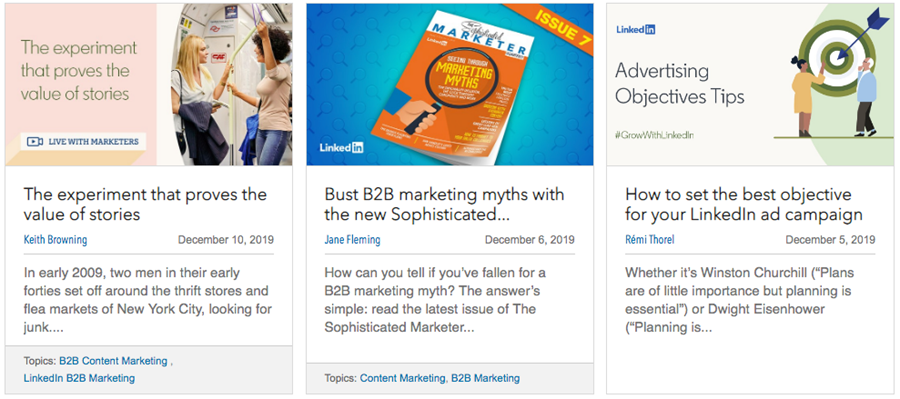 I'm suddenly obsessed with Linkedin's content - and you should be too