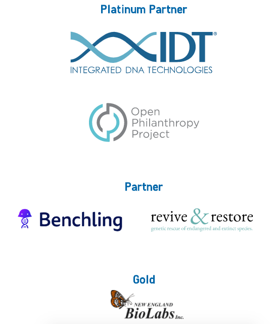 IDT, Open Philanthropy Project, Benchling, Revive & Restore