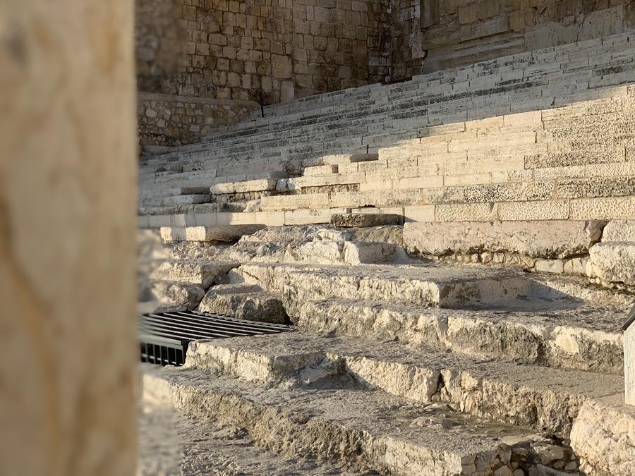 Southern Wall Steps Jerusalem Explore Israel Maranatha Tours