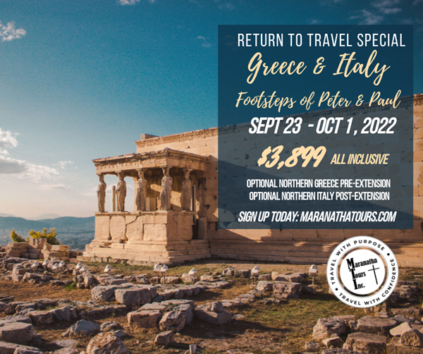 Return To Travel with Maranatha Tours Easy as 1-2-3