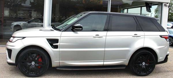Range Rover Sport with SVR Kit - side