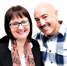 Sue and Carl van Schreven