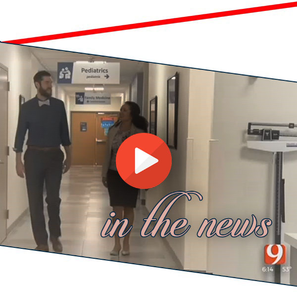 Screenshot of News 9 video segment