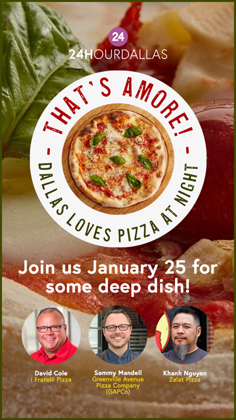 Register to join us January 25 for a little pizza love!