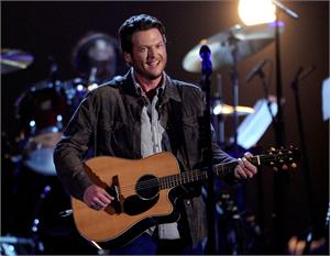 "The reigning CMA and ACM Male Vocalist of the Year Blake Shelton has his sixth consecutive chart-topping hit with ""Drink on It."" He is now the only solo male country artist to have his six most recent singles all hit No. 1.   Written by Jon Randall, Jessi Alexander and Rodney Clawson, ""Drink on It"""