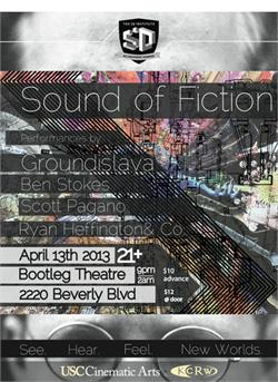 Sound of Fiction Poster