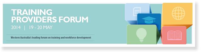 Training Providers Forum 2014 logo