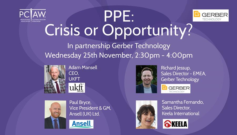 PPE: Crisis or Opportunity webinar
