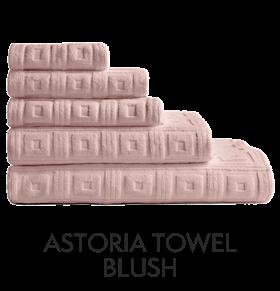 Astoria Towels Blush
