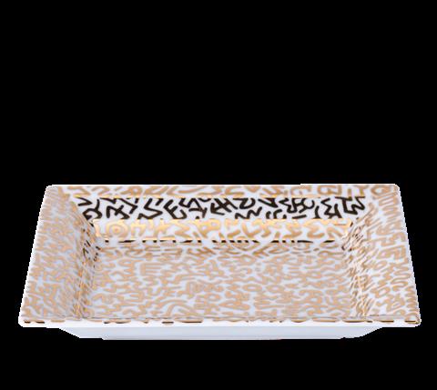 Keith Haring Gold Tray