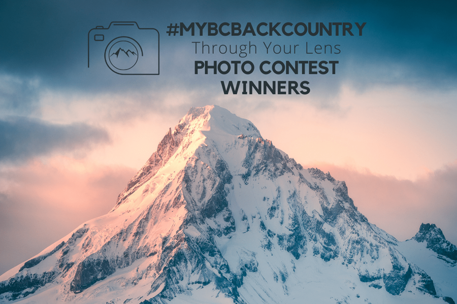 #myBCbackcountry Through Your Lens Photo Contest Winners