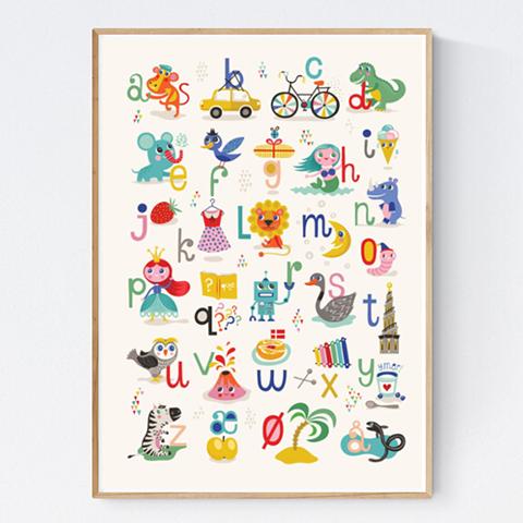 ABC Børneplakat