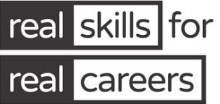 logo for real skills for real careers