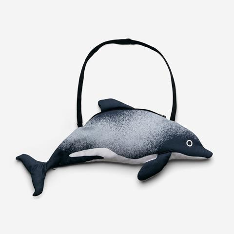 Limited edition Māui dolphin bag