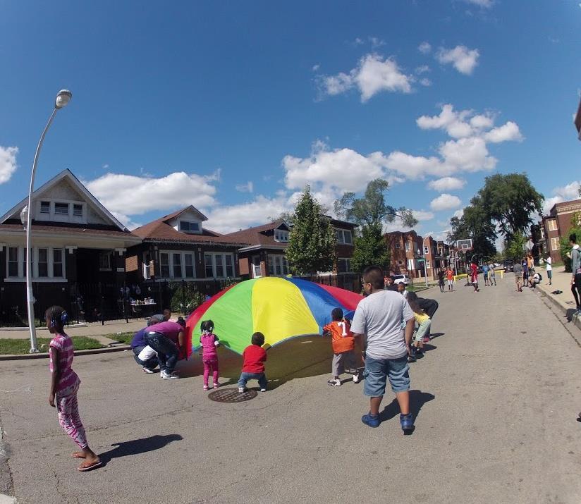 Photo: Harbor View Plaza stakeholders break ground into their ice cream
