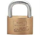 Surplus stock - Burg watcher padlock
