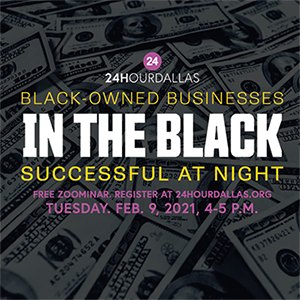 Register for In the Black, Tuesday, Feb. 9, 4-5 p.m.