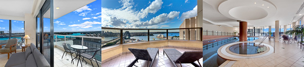 Amazing facilities and locations at Corporate Housing apartments around Barangaroo