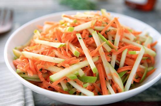 Carrot Apple Slaw