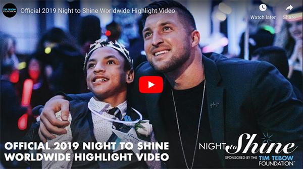 Official 2019 Night to Shine Worldwide Highlight Video
