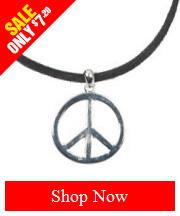 Tribut Apparel - Peace Sign Pendant (Unisex)