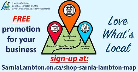 Shop Lambton Map