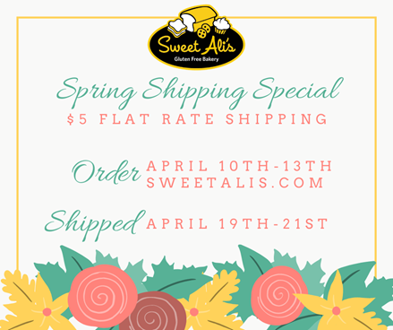 Spring Shipping Special