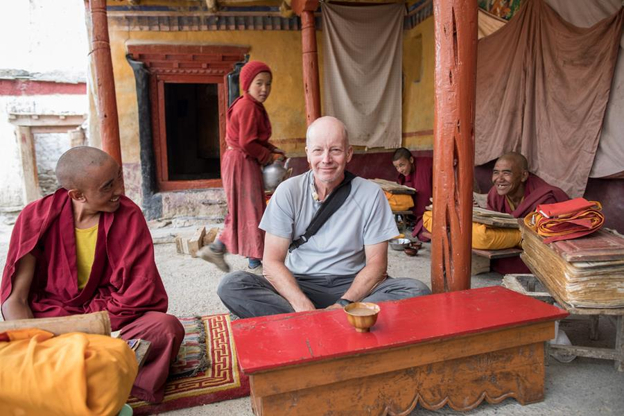 Monastery fun