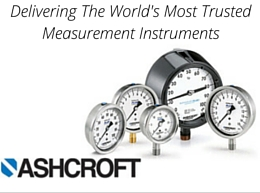 Ashcroft – Delivering The World's Most Trusted Measurement Instruments