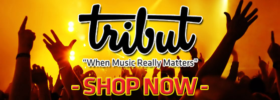 Tribut Apparel, 'When Music Really Matters'. Click Here to Shop Now