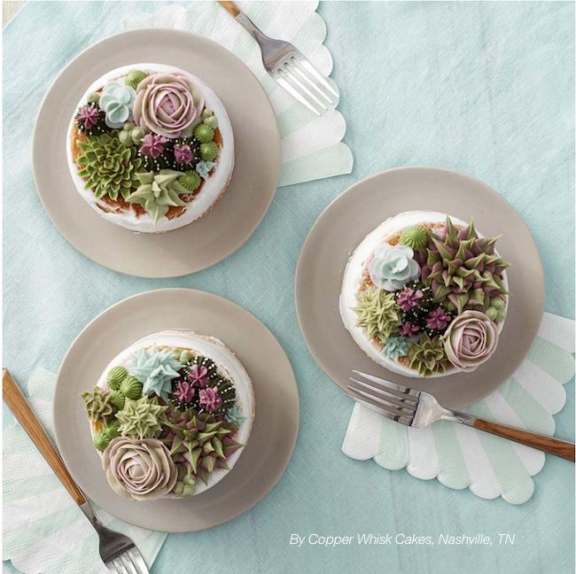 Cakes by Nashville designer