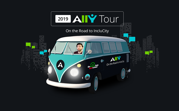 Blackboard Ally Tour Bus