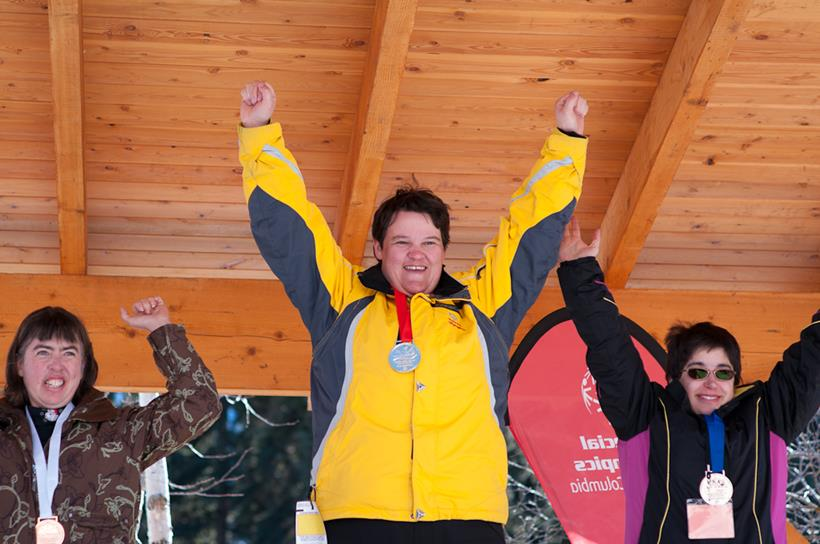 Alpine skiing medallists at the 2015 Special Olympics BC Winter Games