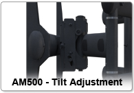 AM500 - Tilt Adjustment