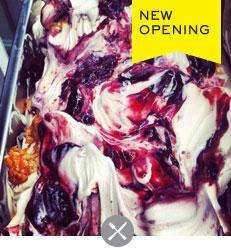 New Opening Island gelato