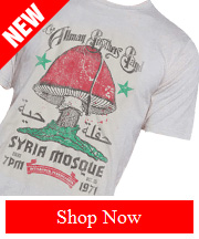 Tribut - NEW Allman Brothers Band – Syria Mosque tee