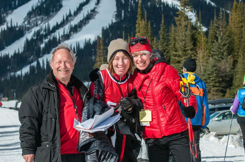 2015 SOBC Winter Games cross-country skiing athletes and coaches