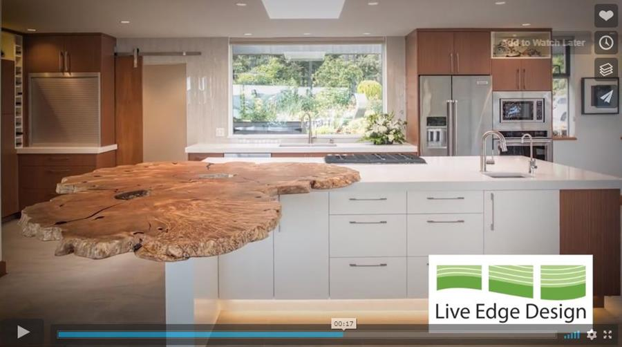 Live Edge Design Island Good Campaign