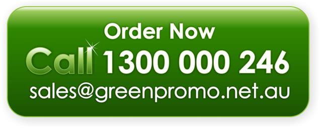 Email us at sales@greenpromo.net.au