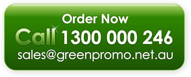 Email us at sales@greenpromo.net.au