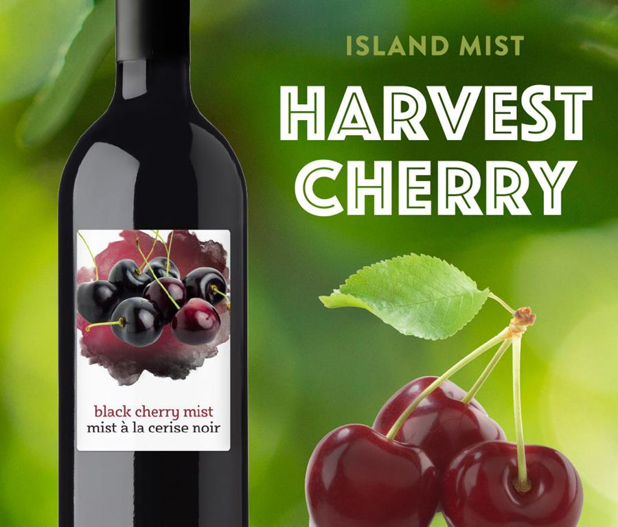 Limited Time Only! Island Mist Harvest Cherry!