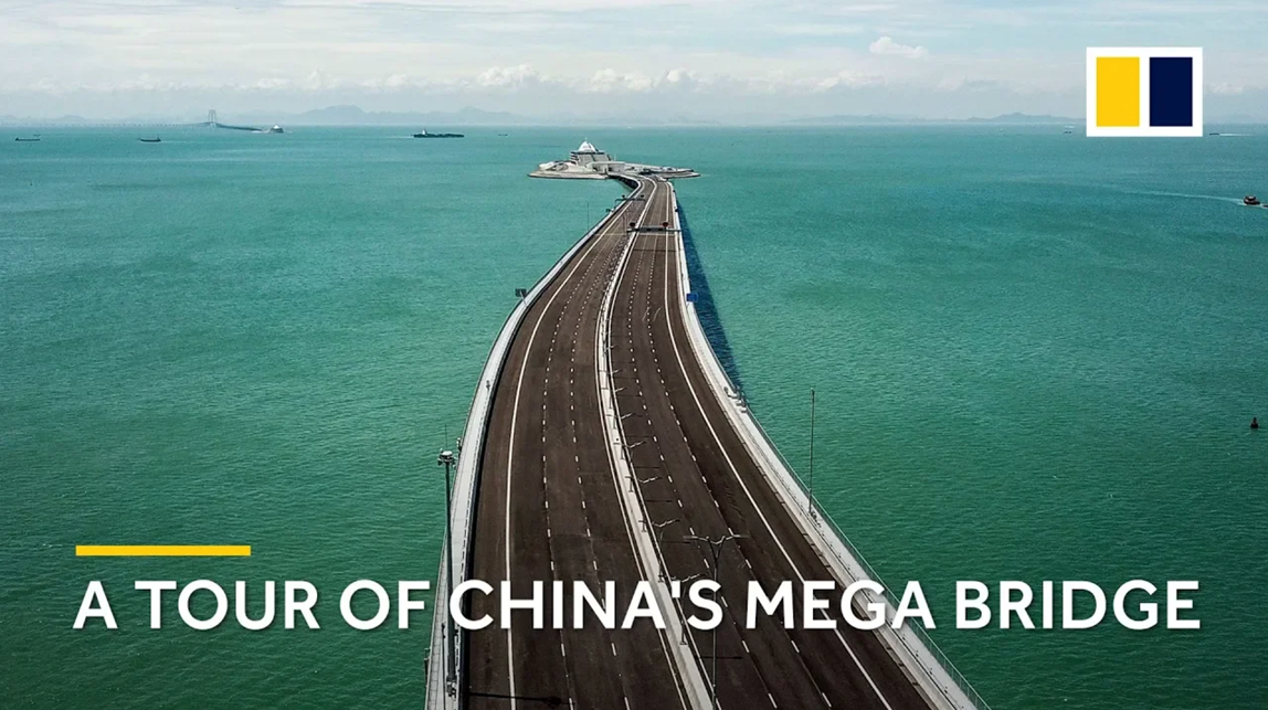 A tour of the Hong Kong–Zhuhai–Macau mega bridge