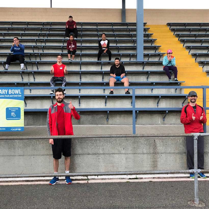 Special Olympics track athletes in Nanaimo