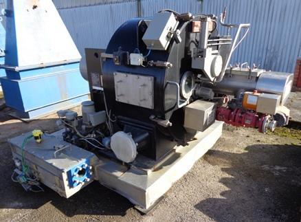 900mm x 400mm Ellerwerk Typ 936H Horizontale Schälzentrifuge