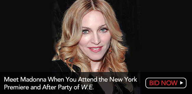 Meet Madonna at the New York Premiere