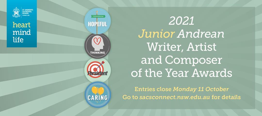 2021 Junior Andrean Awards