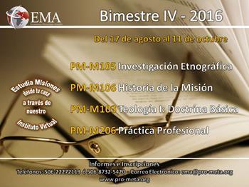 Diploma en Misión Intercultural