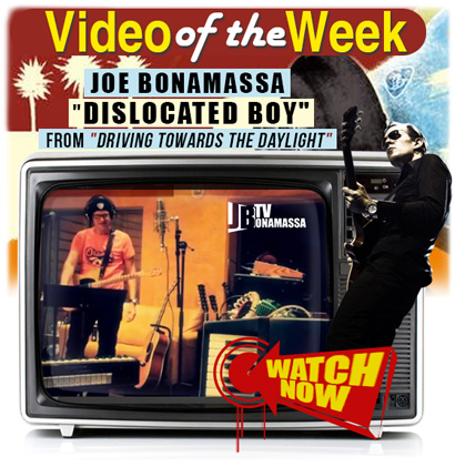 Joe Bonamassa Video of the Week. 'Dislocated Boy' music video from the DVD 'Driving Towards The Daylight'. Click here to watch it now!